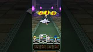 DQW メタルホイミンのほこら 1ターン討伐 メタル双連撃からのメタルまわしげりで撃退 Dragon Quest Walk Metal Hoimin attack!
