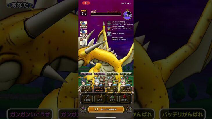 【ドラクエウォーク】メガモンスターグレイトドラゴン討伐!Vol.3【心S来るか!?】